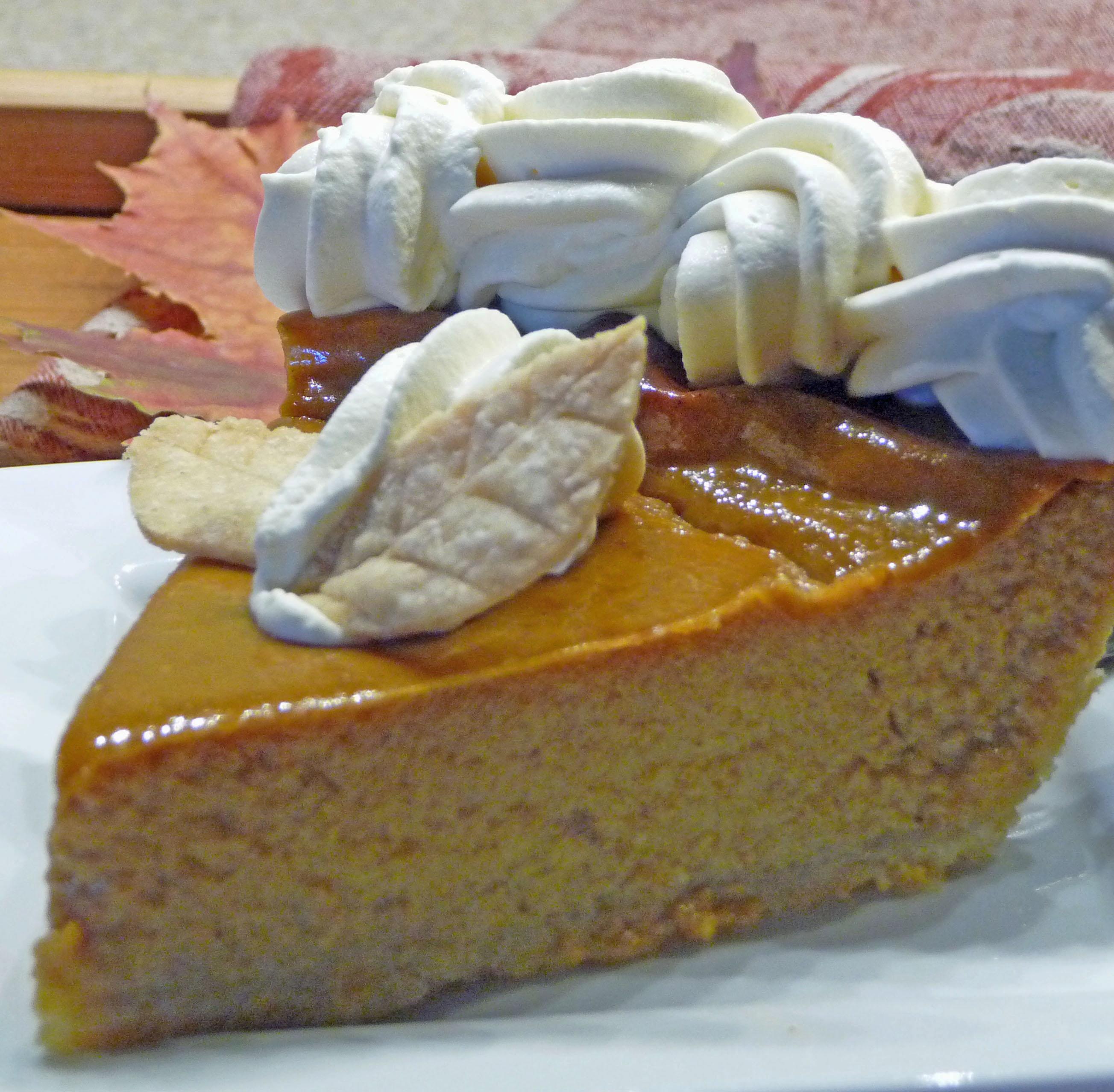 A Slice of Maple-Pumpkin Pie (c) jfhaugen