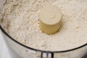 Resembling very coarse cornmeal http://www.flickr.com/photos/pgoyette/214954728/
