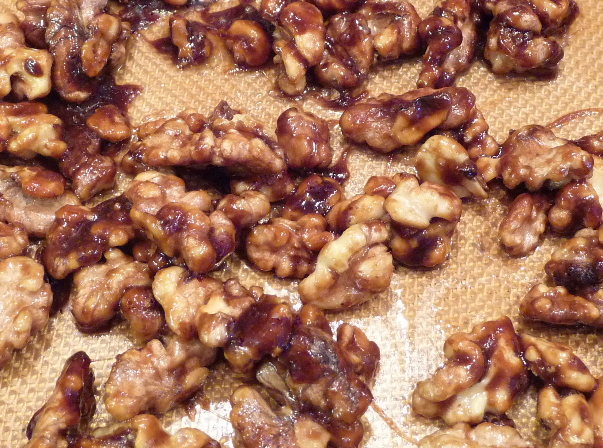 walnuts the walnuts were a perfect maple glazed walnuts rosemary ...