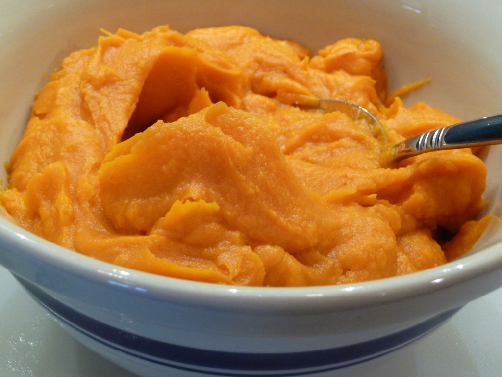 Roasted Sweet Potato Puree w/ Fresh Lime Juice
