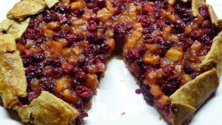 Cranberry Apple Crostata (c) jfhaugen