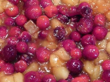 Cranberry Apple Filling (c) jfhaugen