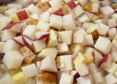 Diced Potatoes in water (c) jfhaugen