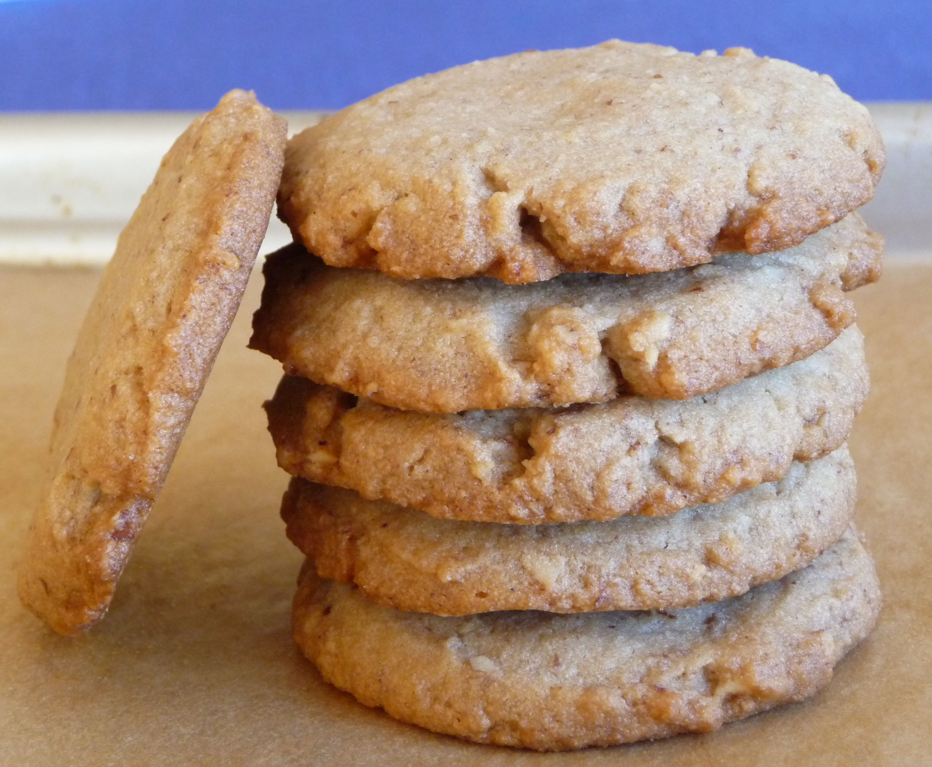 Gluten-Free Maple Pecan Shortbread Cookies